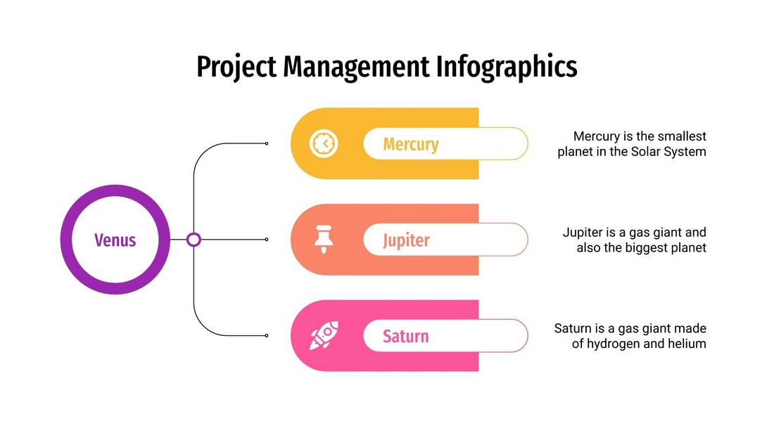 Free Project Management PowerPoint Infographics