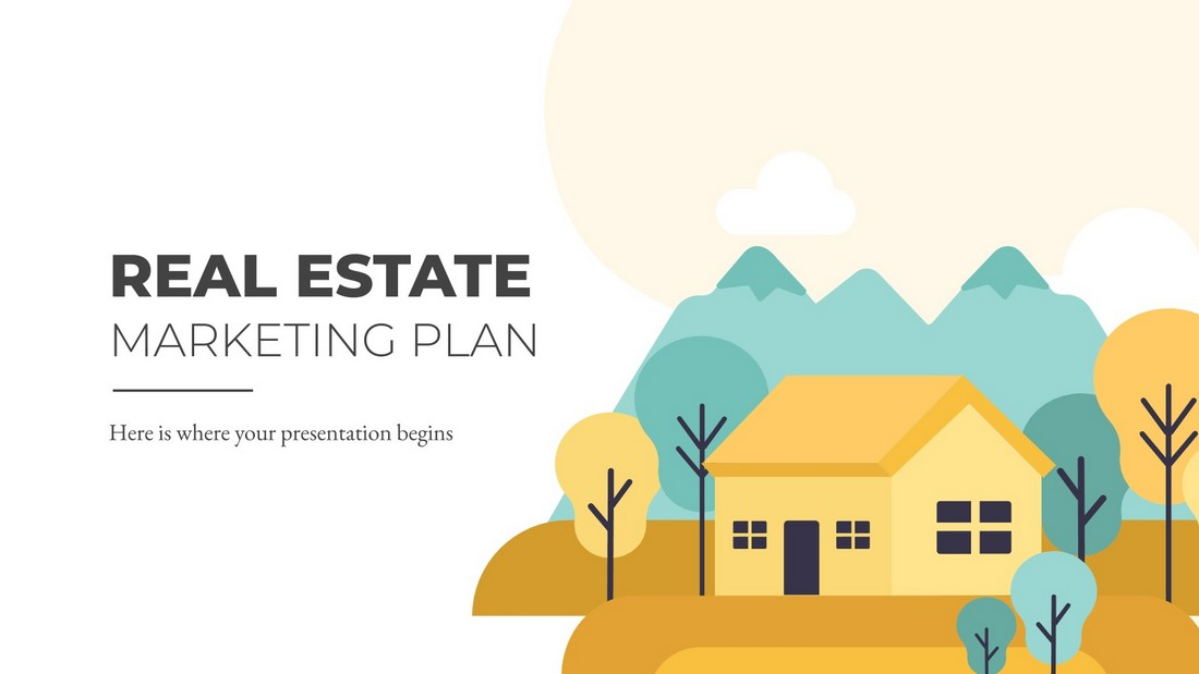 Free Real Estate Marketing Plan PPT Presentation