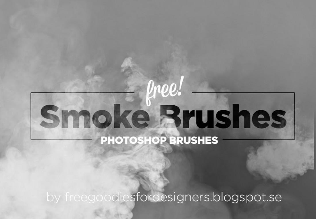 Free Realistic Smoke Photoshop Brushes