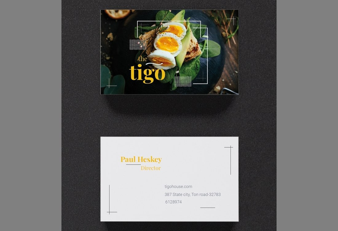 Free-Restaurant-Business-Card-Template 20+ Business Card Templates for Google Docs (Free & Premium) design tips