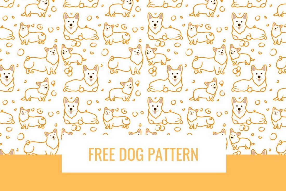 Free-Seamless-Dog-Pattern-for-Photoshop 50+ Best Free Photoshop Patterns 2021 design tips