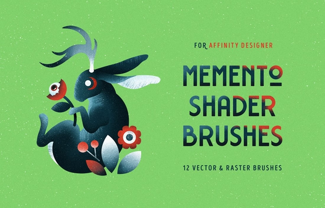 Free-Shader-Brushes-for-Affinity-Designer 20+ Best Affinity Designer Templates & Assets 2020 design tips  Inspiration