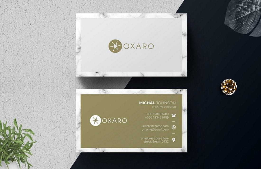 Free Simple Business Card Design