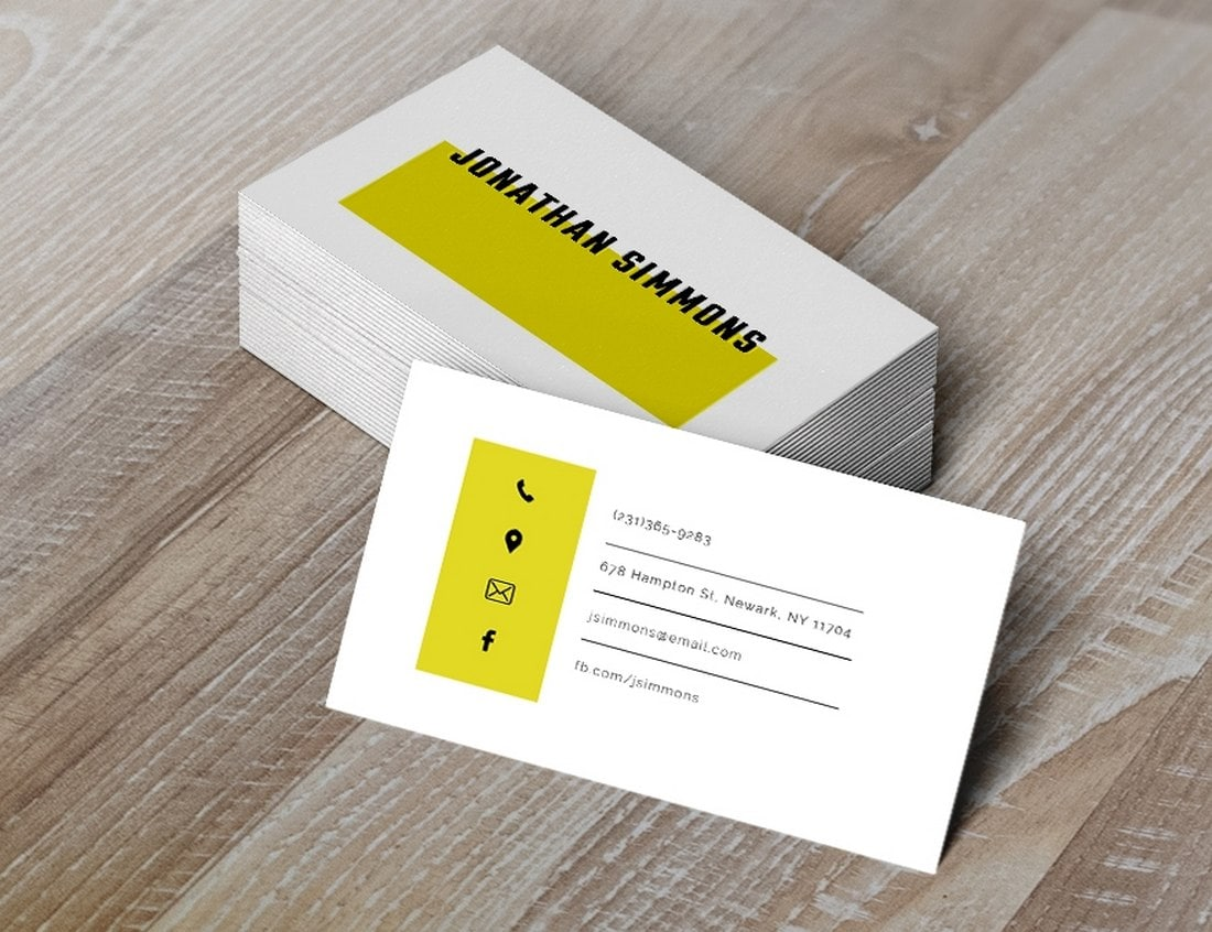 Free-Simple-Business-Card-Template 20+ Business Card Templates for Google Docs (Free & Premium) design tips