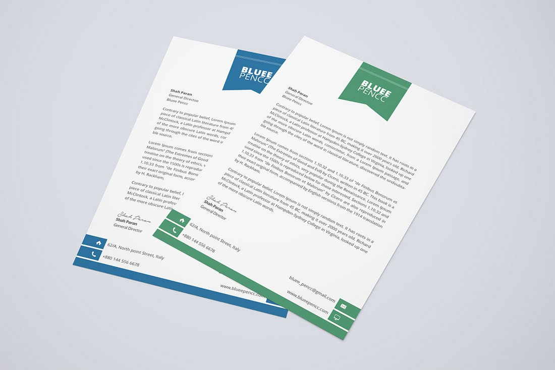 Free Simple Letterhead Template