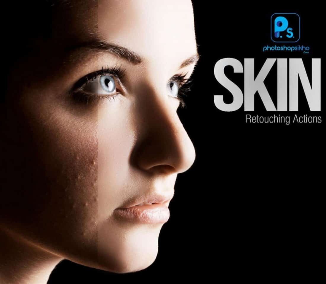 Free Skin Retouching Photoshop Action