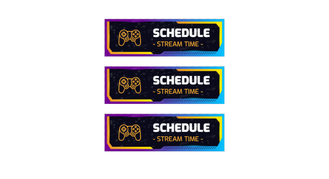 Free-Stream-Schedule-Twitch-Panel-Template 15+ Best Twitch Panel Templates & Makers 2021 (Free & Premium) design tips