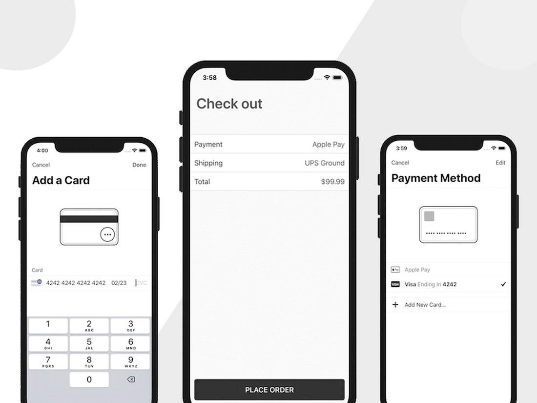 Free Stripe Checkout iOS App Template