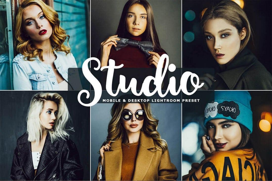 Free Studio Mobile & Desktop Lightroom Presets