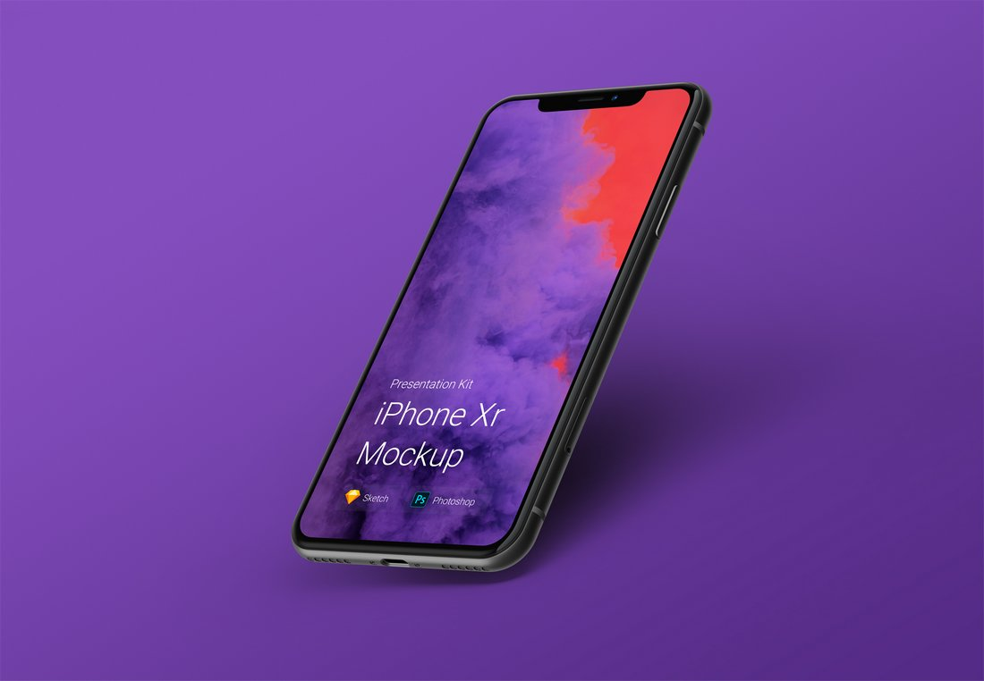 Free Stylish iPhone XR Mockup