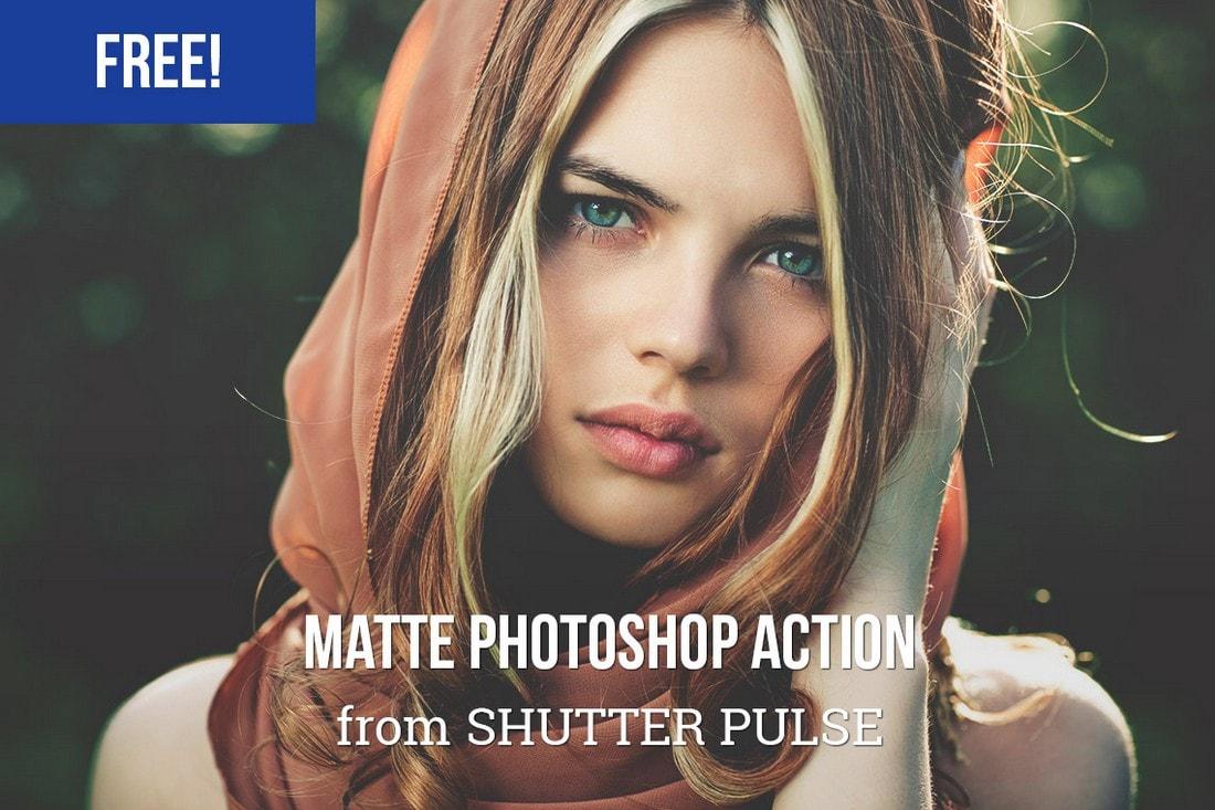 Free Subtle Matte Photoshop Action