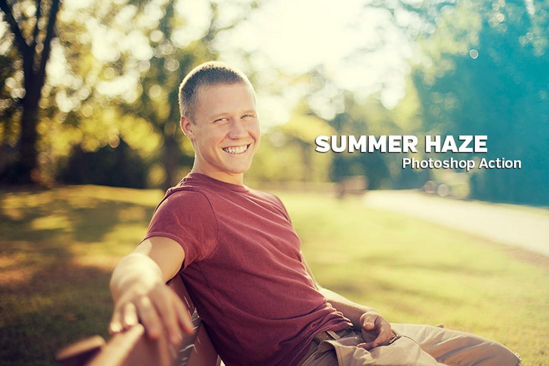 Free Summer Haze Photoshop Action