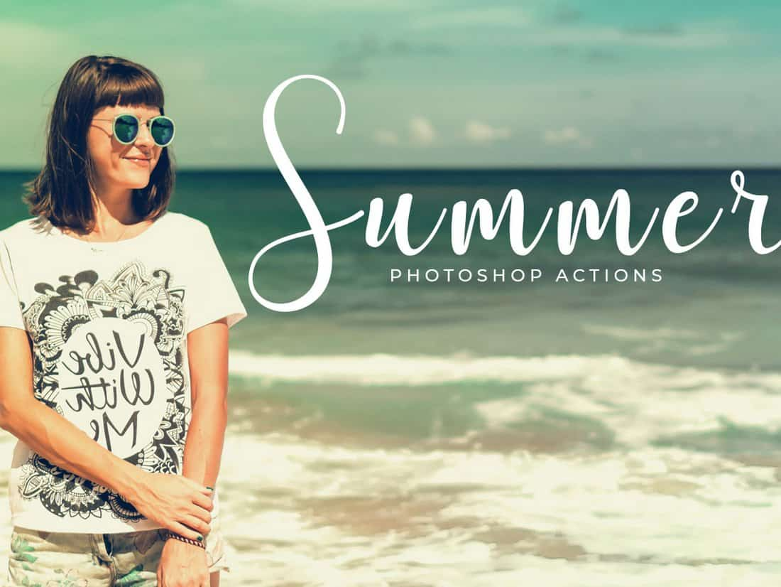 Free Summer Photoshop Actions