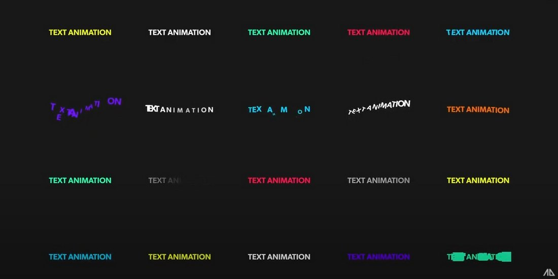 Free Text Animation Pack for After Effects