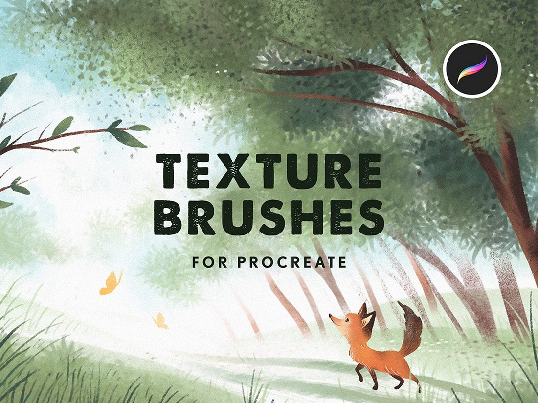 Free Texture Brushes for Procreate