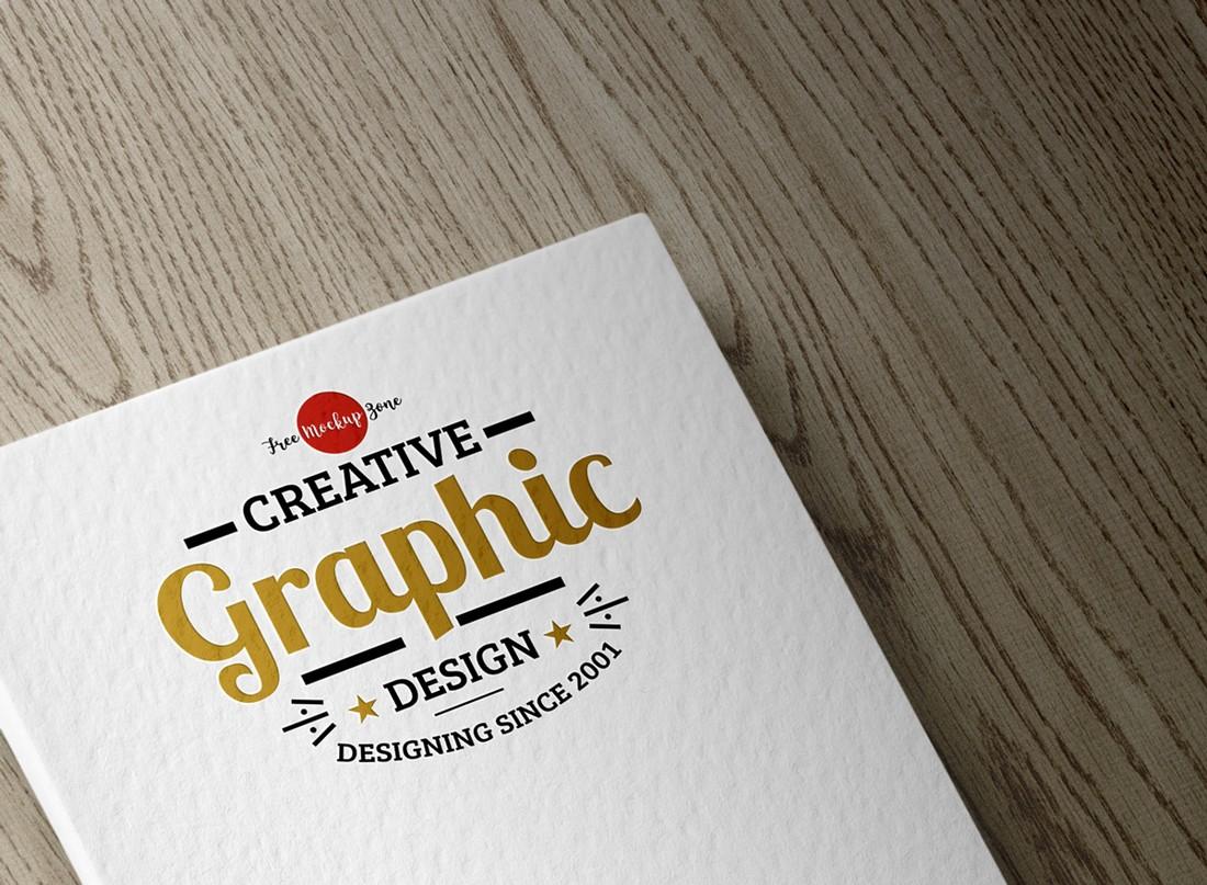 Free-Textured-Logo-Mockup-PSD-1 100+ Logo Mockup Templates (PSD & Vector) design tips