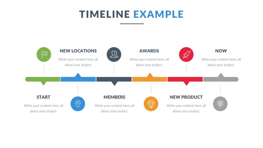 Free-Timeline-Google-Slides-Template 35+ Best Google Slides Themes & Templates 2019 design tips