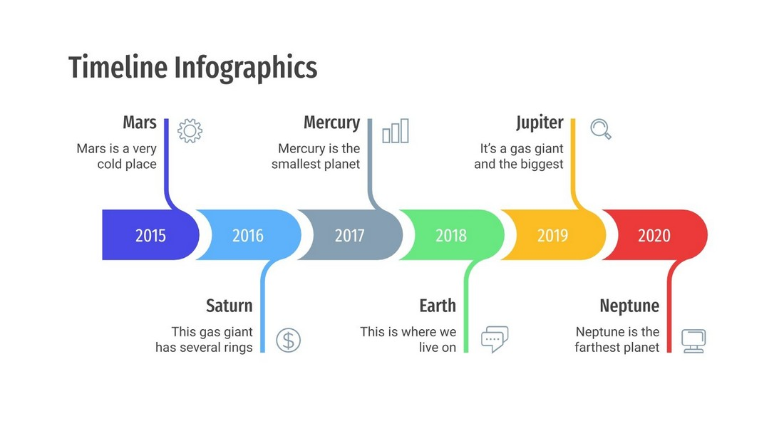 Free Timeline Infographics for PowerPoint