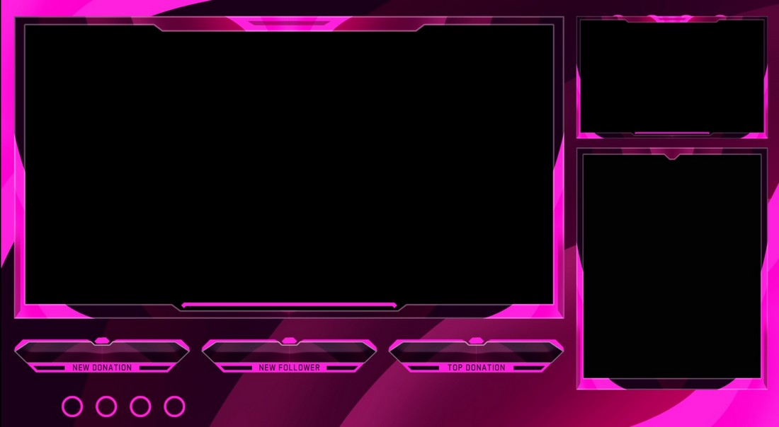 Free-Twitch-Stream-Overlay-Templates 15+ Best Twitch Stream Overlay Templates in 2020 (Free & Premium) design tips