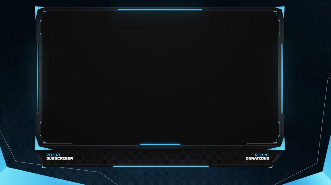 Free Twitch & YouTube Stream Overlay