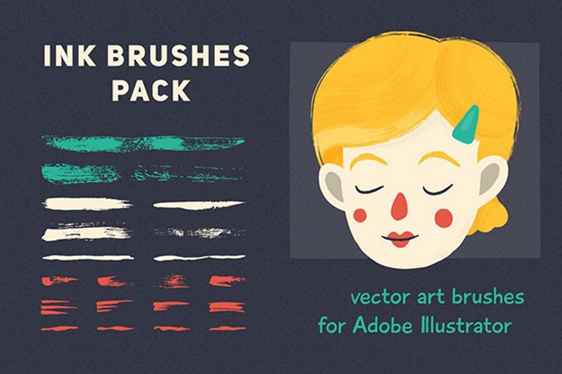 Free Vector Brush Set for Illustrator