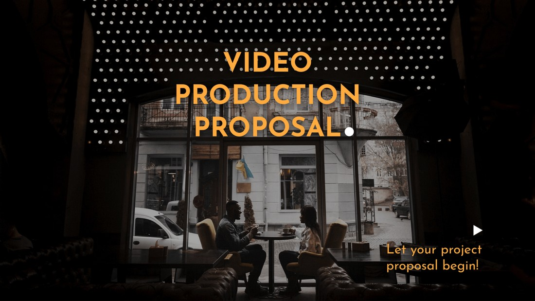 Free Video Production Proposal PPT Template