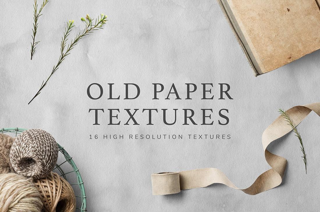 Free Vintage Old Paper Textures Pack