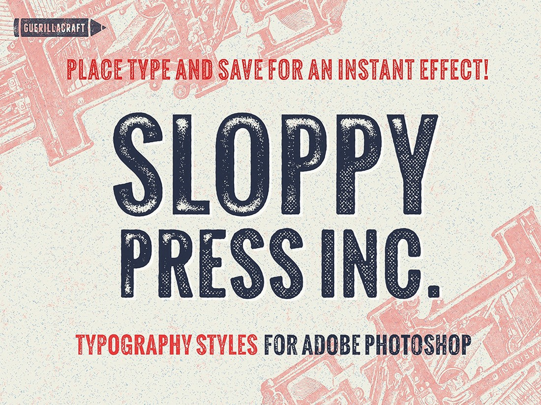 Free Vintage Photoshop Layer Styles