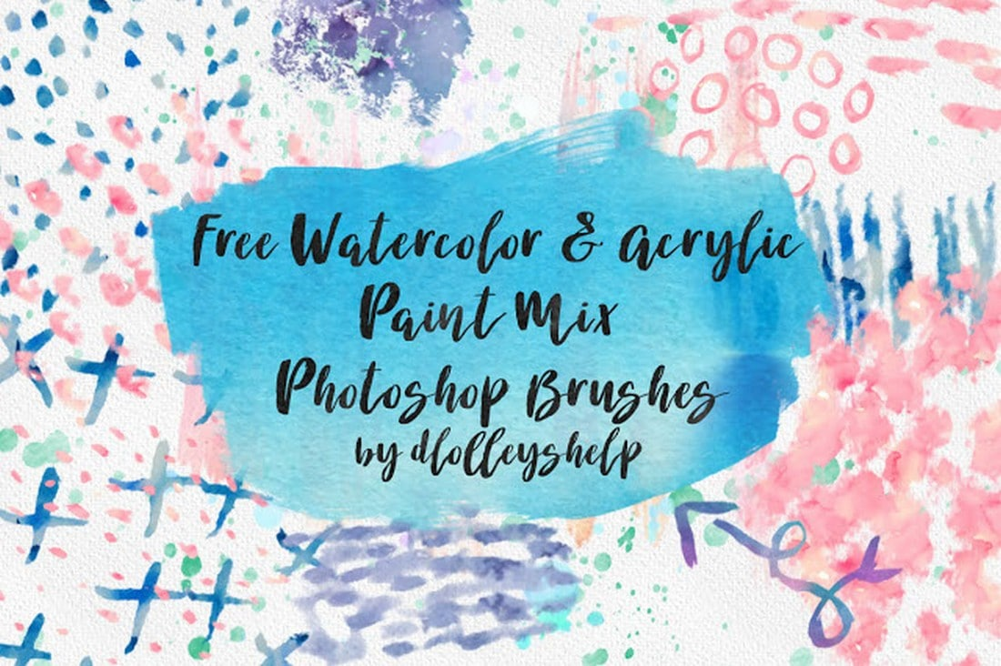 Free Watercolor & Acrylic Paint Brushes