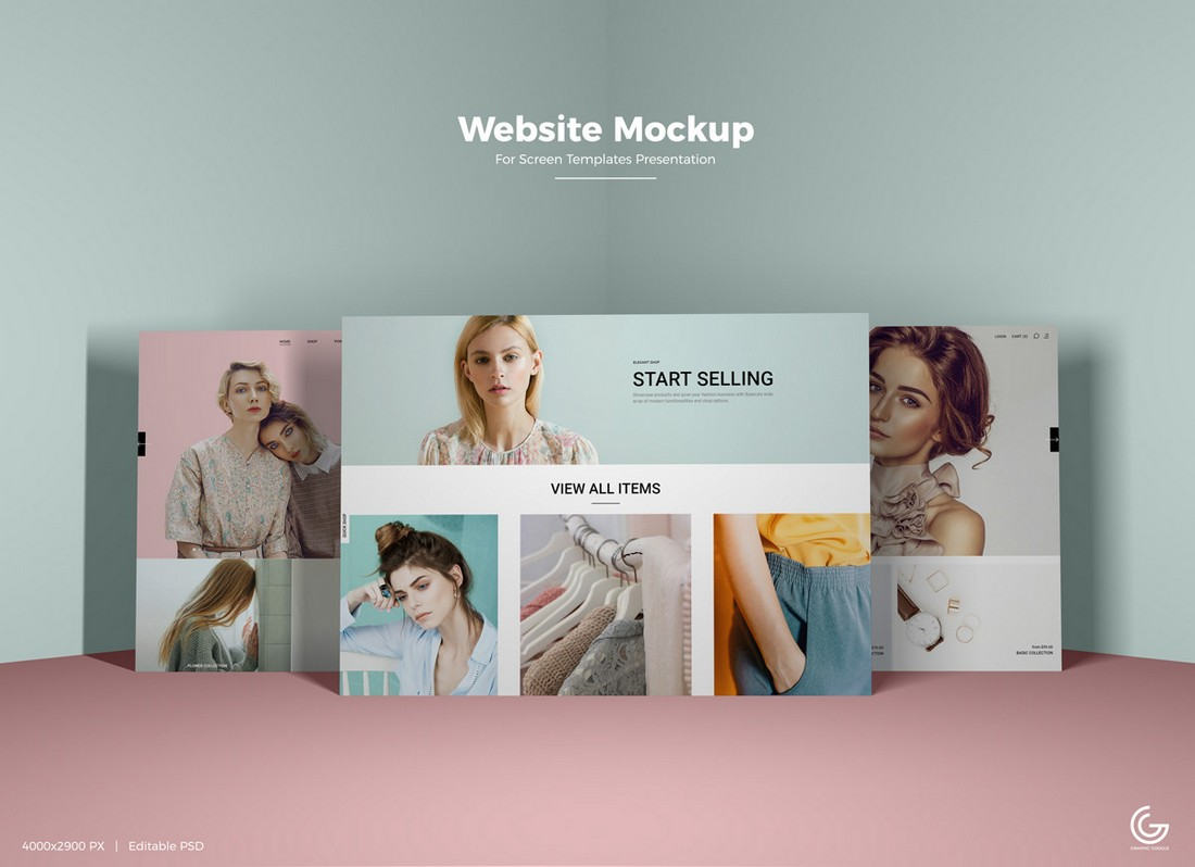 Free-Website-Screens-Mockup-PSD 40+ Best Website PSD Mockups & Tools 2020 design tips