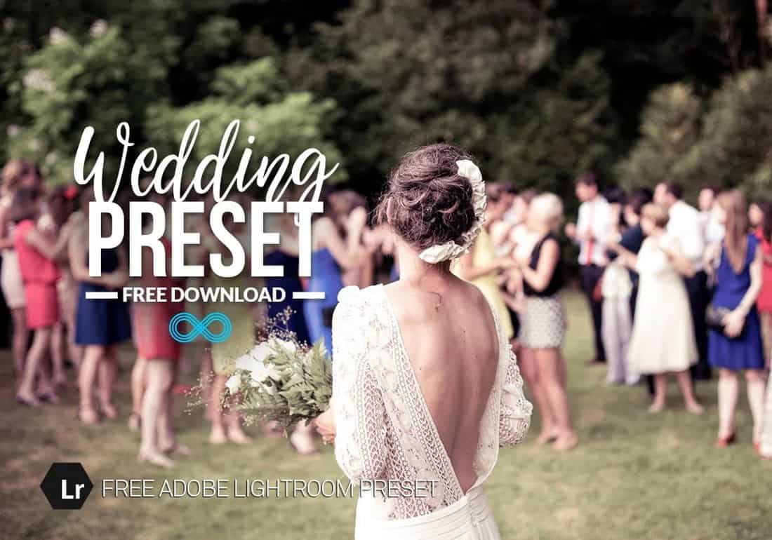 Free Wedding Photography Lightroom Preset