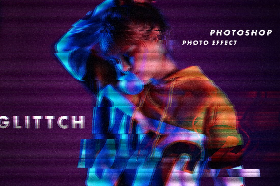 Free-Welter-Glitch-Effect-Photoshop-Layer-Style 20+ Best Photoshop Layer Styles in 2021 (Free & Premium) design tips