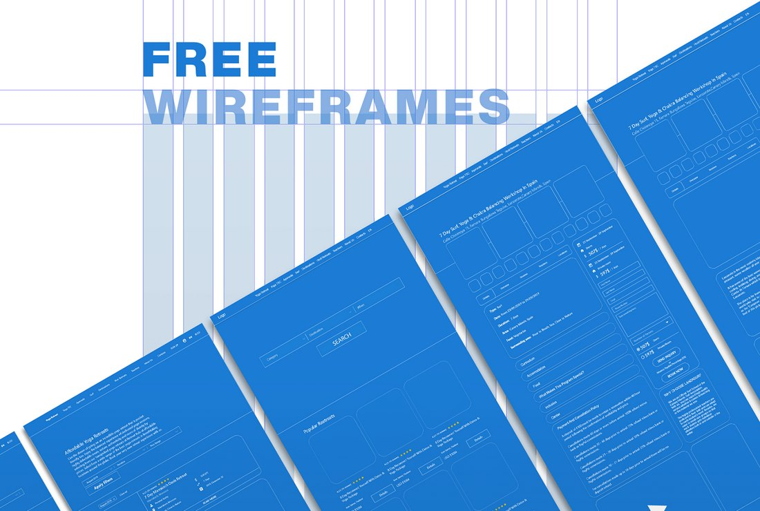 Free Wireframes Kit Adobe XD Template
