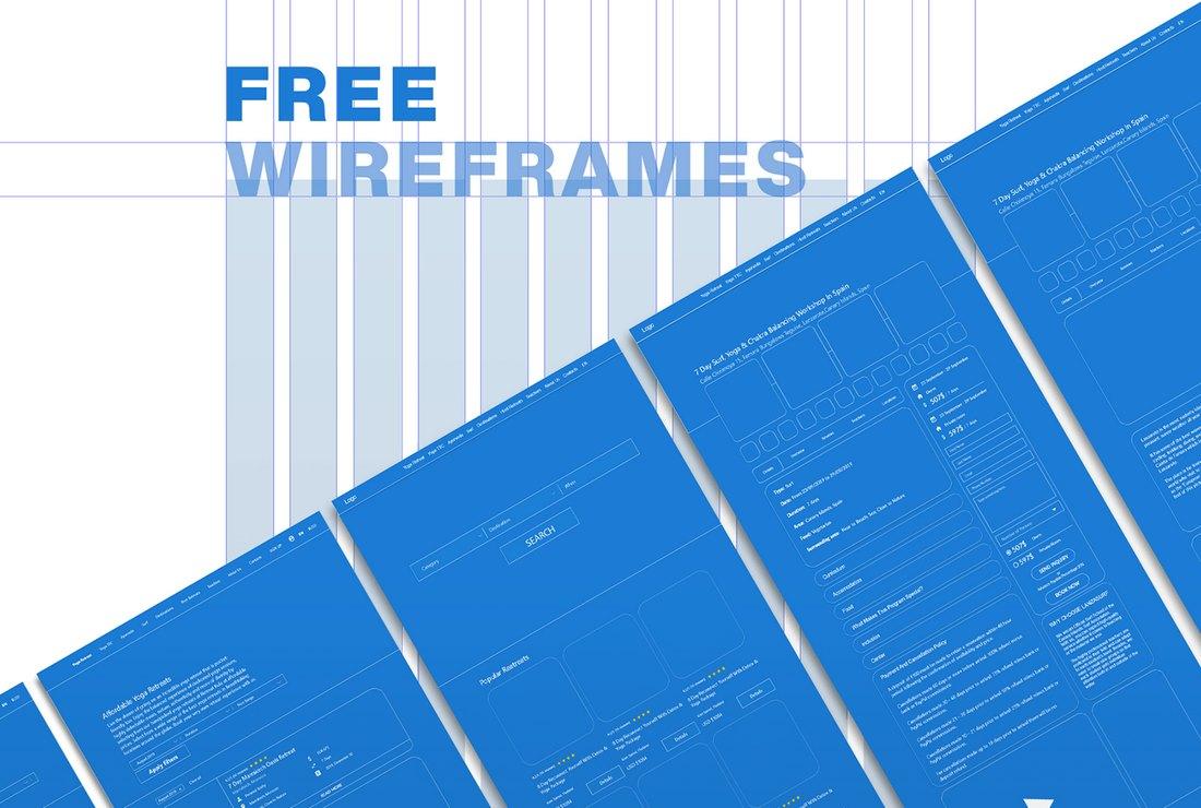 Free Wireframes Kit Adobe XD Template