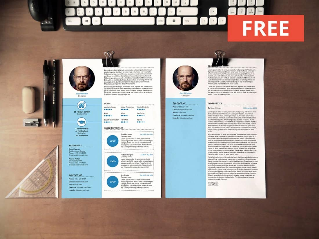 Free Word Resume For Creatives