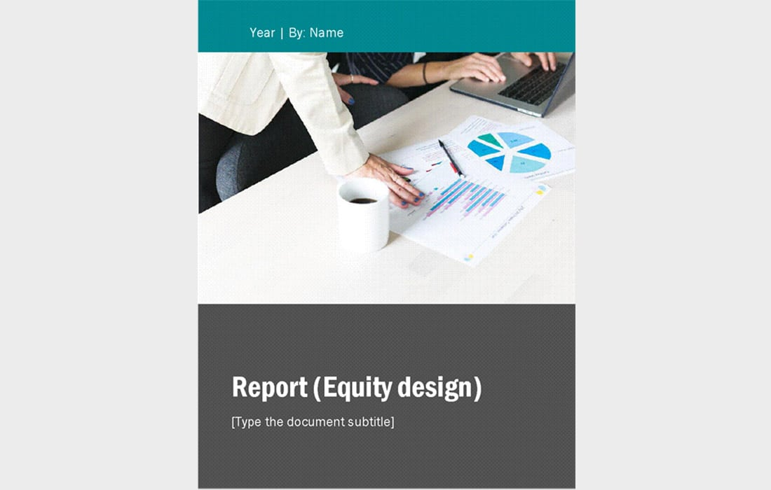 Free-Yearly-Business-Report-Word 20+ Annual Report Templates (Word & InDesign) 2018 design tips
