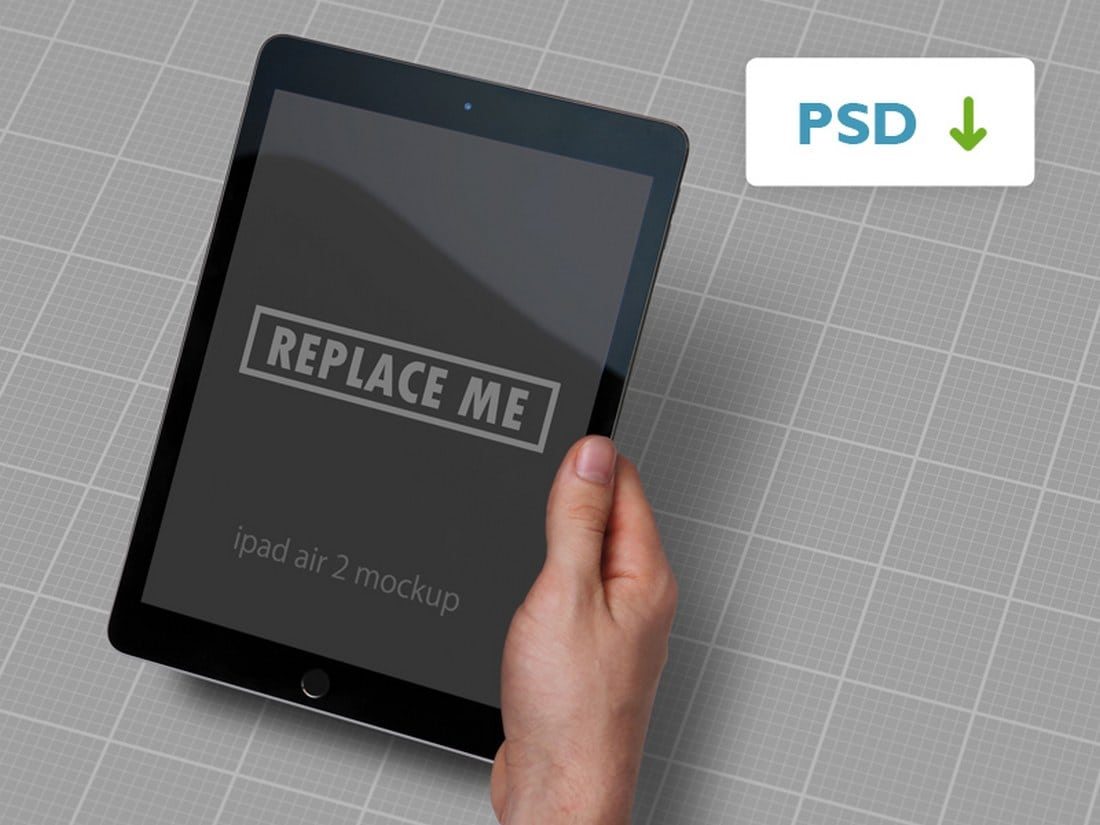 Free-iPad-Air-2-Mockup 100+ iPad Mockup PSD & PNG Templates design tips