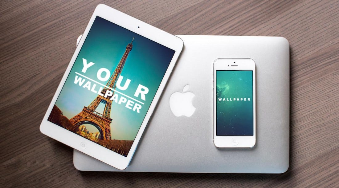 Free iPad & iPhone PSD Mockup