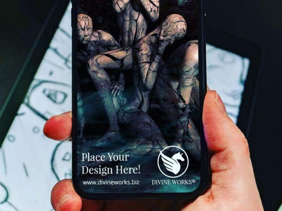 PSD gratuito para iPhone 11 Pro Mockup