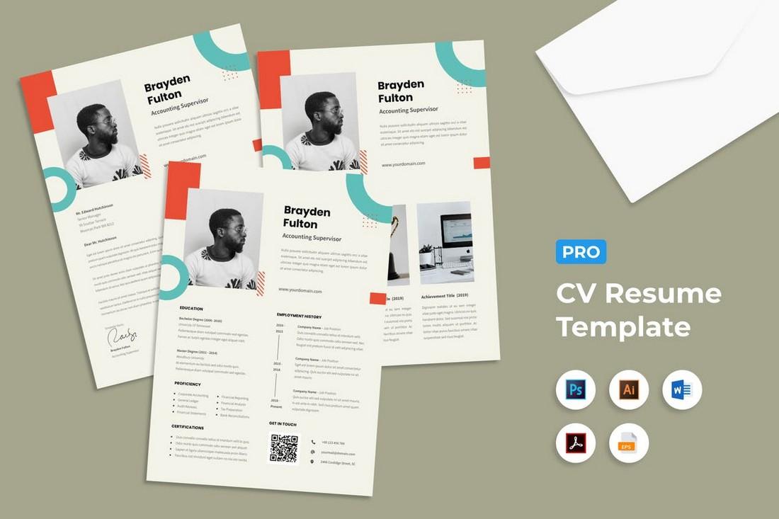 Freelancer Word Resume & Cover Letter Templates