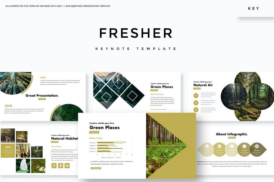 Fresher - Keynote Template
