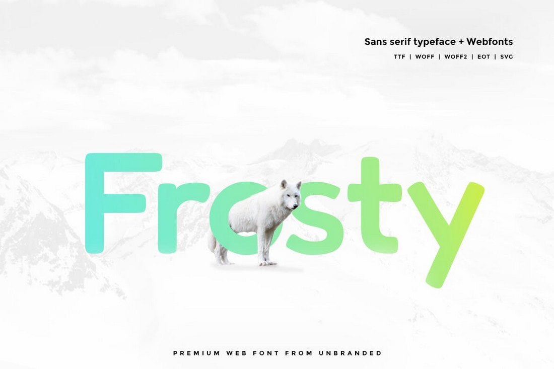Frosty-Modern-Typeface 20+ Best Fonts for PowerPoint Presentations design tips
