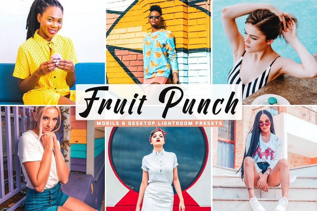 Fruit Punch - Mobile & Desktop Lightroom Presets