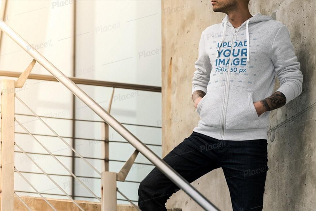Full-Zip-Hoodie-Mockup 20+ Hoodie Mockup Templates (Free & Premium) design tips  Inspiration