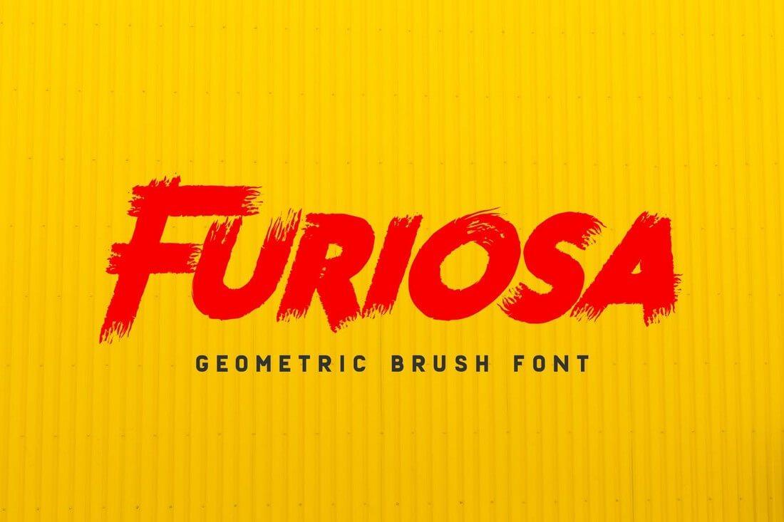 Furiosa 60+ Best Big, Poster Fonts of 2019 design tips