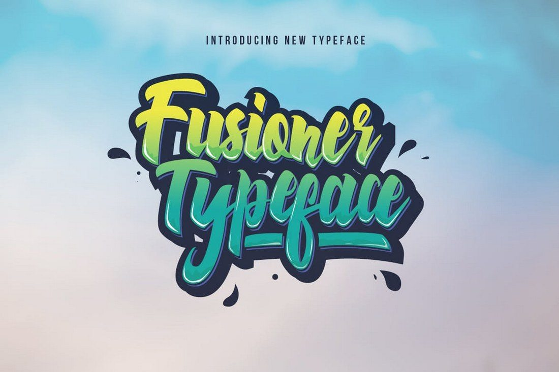 Fusioner-Typeface 30+ Best Modern & Futuristic Fonts 2021 design tips
