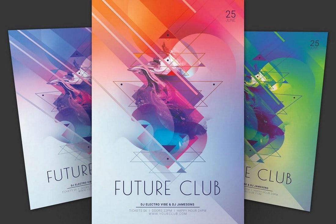 Future Club Flyer Template