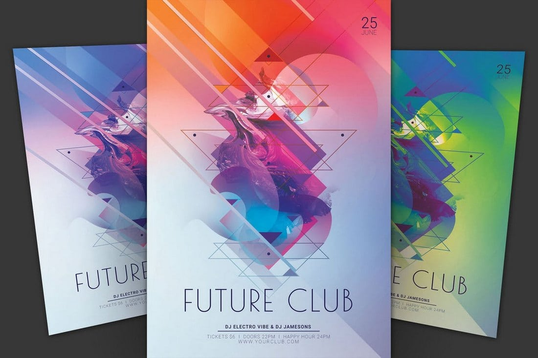 Future-Club-Flyer 30+ Best Event Flyer Templates design tips