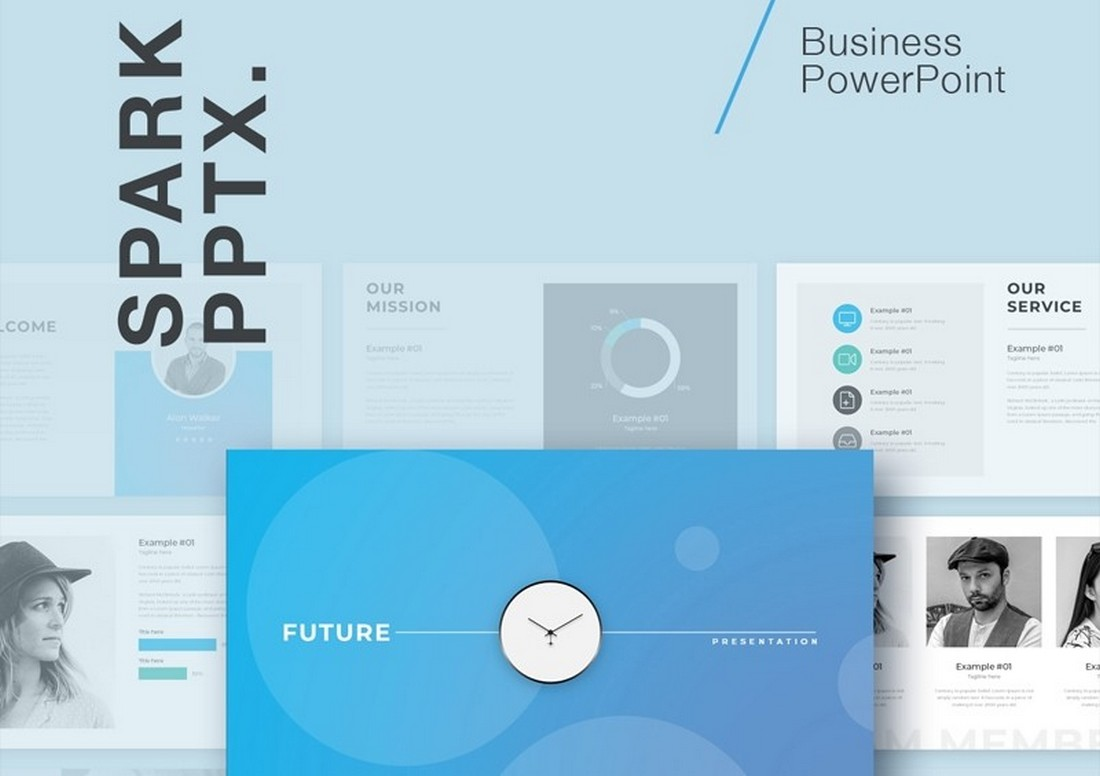 Future - Free Business PowerPoint Template