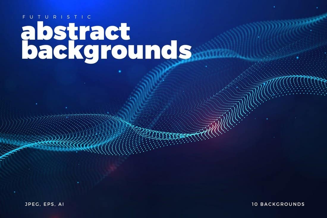 Futuristic Abstract Background Collection